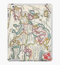 Vintage Map of Europe (1706) iPad Case/Skin
