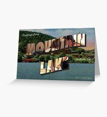 Mountain Lake, VA Vintage Post Card Greeting Card