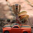Monster Mantis Munches Metropolis! by Gayle Dolinger