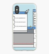 User interface iPhone Case