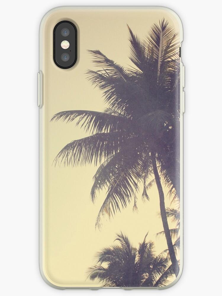 Kokosnuss-Baum-modischer Hippie-Weinlese Desaturated Sommer von Beverly Claire Kaiya