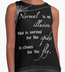 Normal is an Illusion Contrast Tank