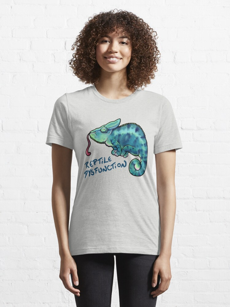 Alternate view of Reptile Dysfunction Essential T-Shirt