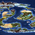 Ramathian World Map by iversia
