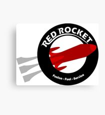 Red Rocket Canvas Print