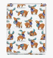 Ethnic deer with colored horns iPad Case/Skin