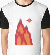 Volcanic Mountains Graphic T-Shirt