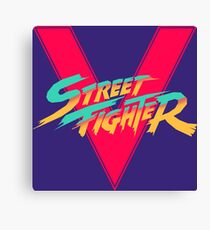 Super Street Fighter Five, 2: Turbo Impact Canvas Print