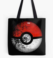 Destroyed Pokemon Go Team Red Pokeball Tote Bag