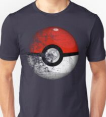 Destroyed Pokemon Go Team Red Pokeball T-Shirt