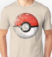 Destroyed Pokemon Go Team Red Pokeball Unisex T-Shirt