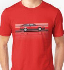 Alfa Romeo GTV6 Red Stripes Unisex T-Shirt