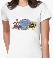 Justice Friends! Women's Fitted T-Shirt