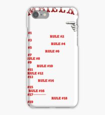 This tall to ride Zombieland - White iPhone Case/Skin