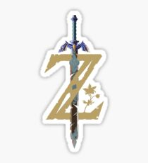 Breath Of The Wild Logo Sticker