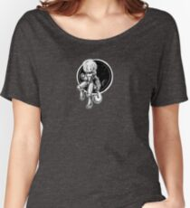 Space Cat is in space! Women's Relaxed Fit T-Shirt