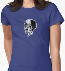 Space Cat is in space! Women's Fitted T-Shirt