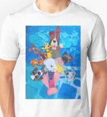 Swirl of peppy pups T-Shirt