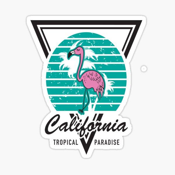 California Tropical Paradise - Sticker
