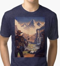 Adventure  Tri-blend T-Shirt