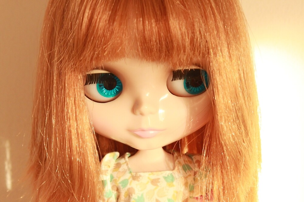 Audrey 2 Blythe Doll by Sophie Pittaway