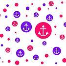 Purple & Pink Dots by aimznabz