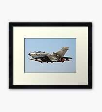 Italian Air force Eurofighter Typhoon in flight  Framed Print