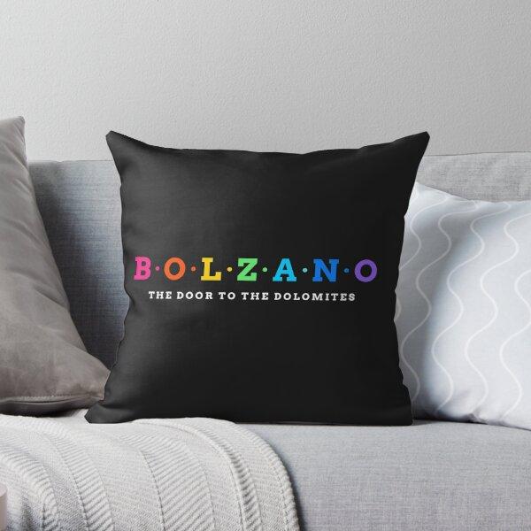 Bolzano, Italy. The door to the dolomites Throw Pillow