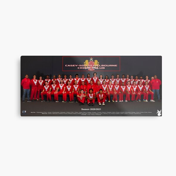 CSMCC Team Photo Season 2020/21 Metal Print