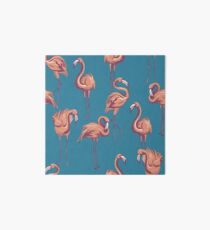 Flamingos Art Board