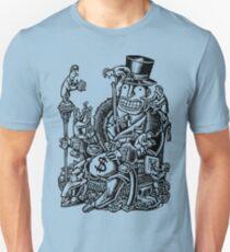 Measuring Success of Wealthy Man Unisex T-Shirt