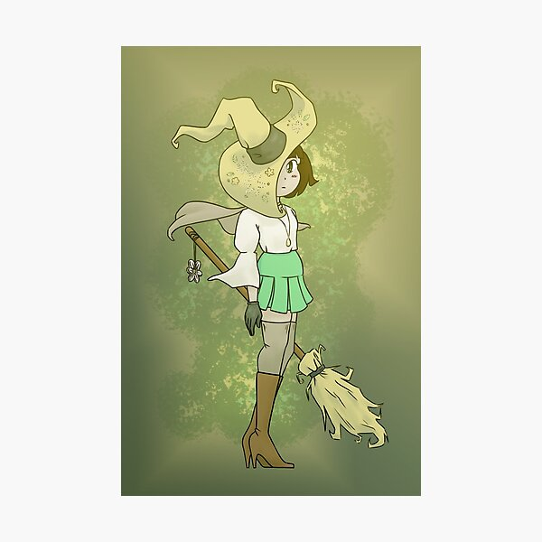 Daisy Witch Photographic Print