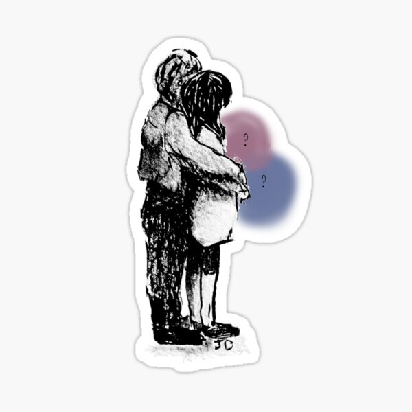 Growing Family but is it a boy or girl?? Sticker