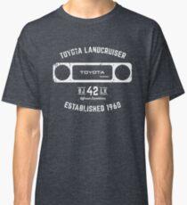 Toyota 40 Series Landcruiser BJ42 LX Square Bezel Est. 1960 Classic T-Shirt