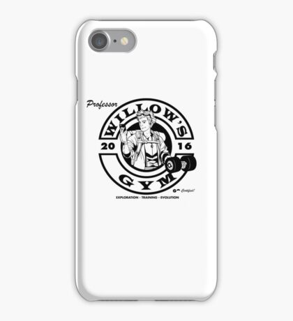 Willow's Gym iPhone Case/Skin