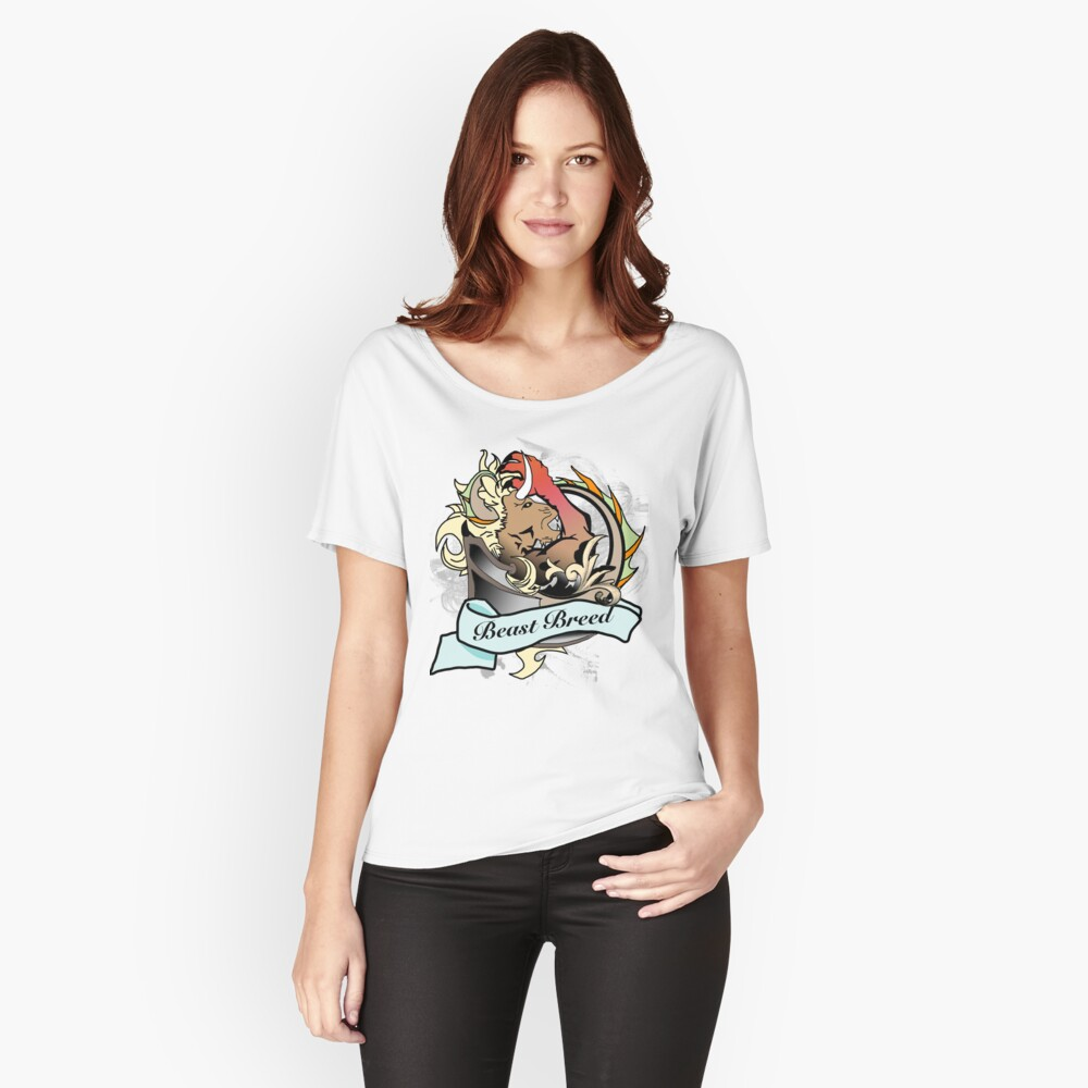"""""""The Behemoth""""  Women's Relaxed Fit T-Shirt Front"""