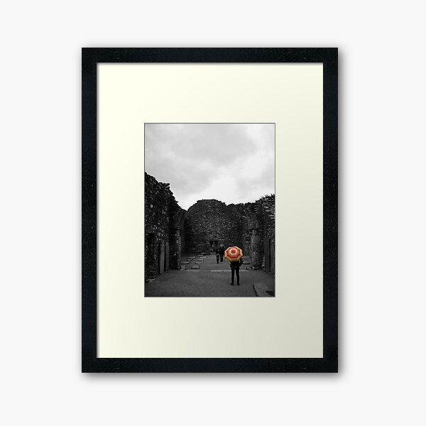 Umbrella Framed Art Print