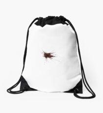 Bullet Hole Drawstring Bag