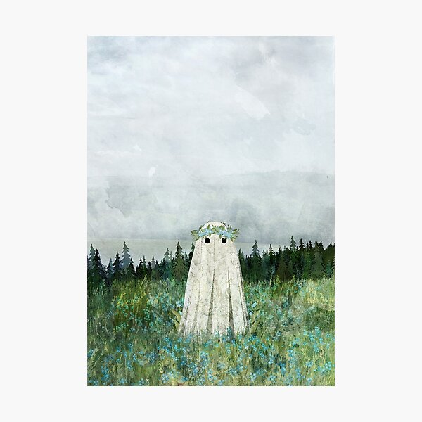 Forget me not meadow Photographic Print