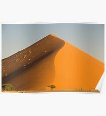desert sand Namibia africa Poster