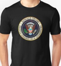 Donald Trump President Seal Unisex T-Shirt