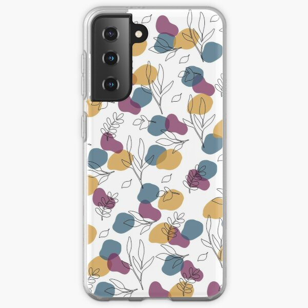 Spots and Leaves Samsung Galaxy Soft Case
