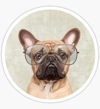 Mr Bulldog Sticker