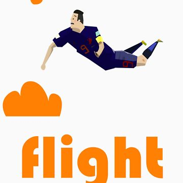 Flight - Robin Van Persie by jacobmclaws