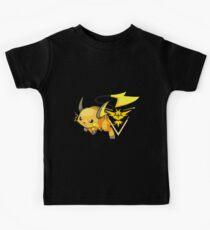 Raichu - Team Instinct Kids Clothes