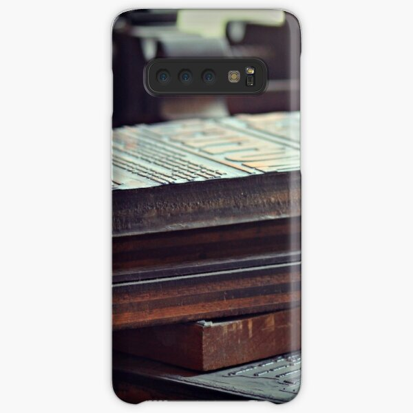 Printing Plates Samsung Galaxy Snap Case