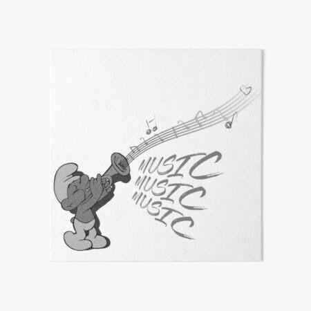 music  Art Board Print