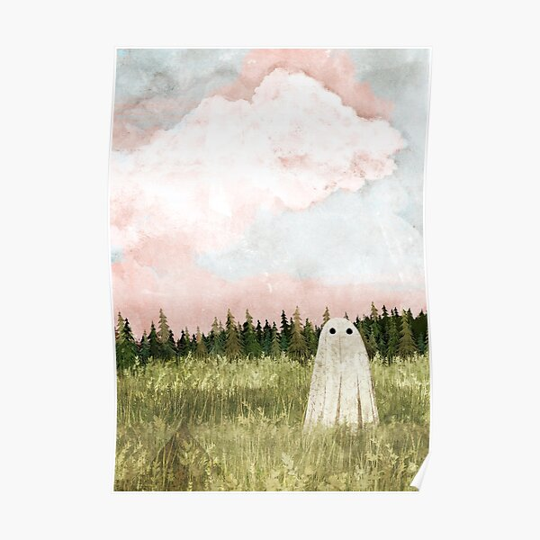 Cotton candy skies Poster