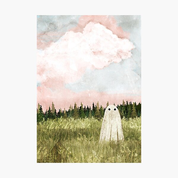 Cotton candy skies Photographic Print
