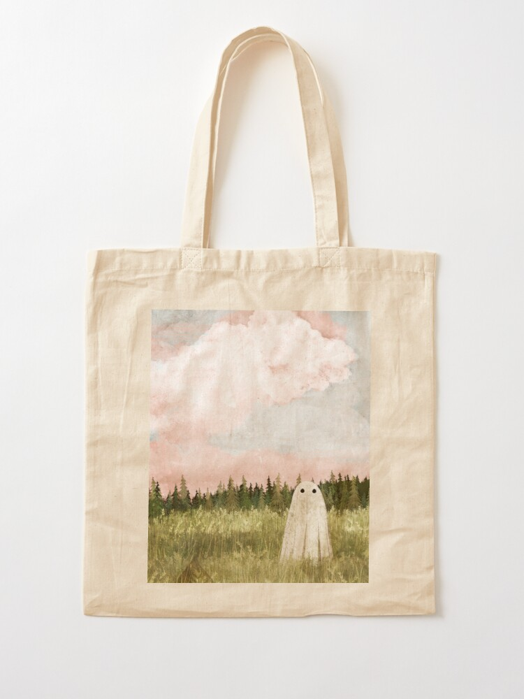 Alternate view of Cotton candy skies Tote Bag